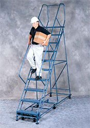 Rolling Ladders - Gillis Industries