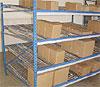 carton flow racks - with span track