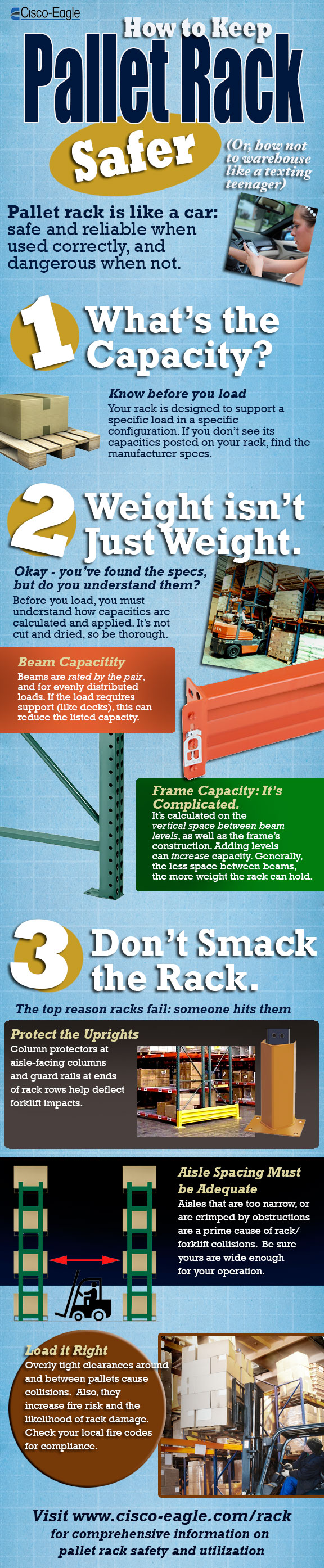 Infographic: Safe Pallet Rack Operations