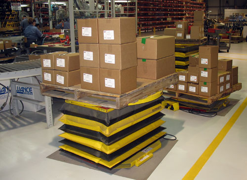 Pallet Positioner with Skirting
