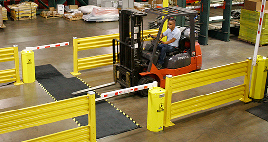 Forklift safety in the warehouse