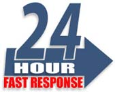 24 Hour Service - Fast Response
