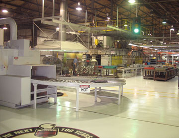 Robroy Inc manufacturing facility in Texas