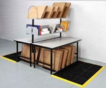 packing benches for store based order fulfillment