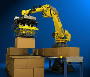 automated robotic palletizer