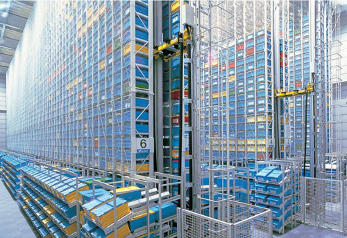 Automated Storage Retrieval System - Muratec