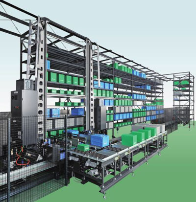Mini-Load ASRS System - Muratec