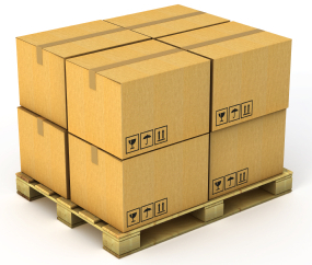 pallet containerization