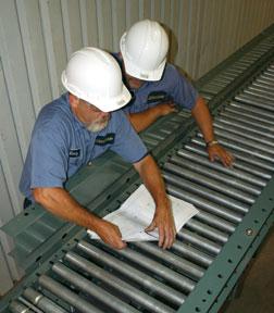 Conveyor inspections