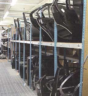 Storage Racks For Hoods And Fenders Cisco Eagle