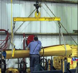 crane used in manufacturing