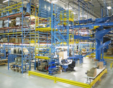 e-commerce distribution pick module
