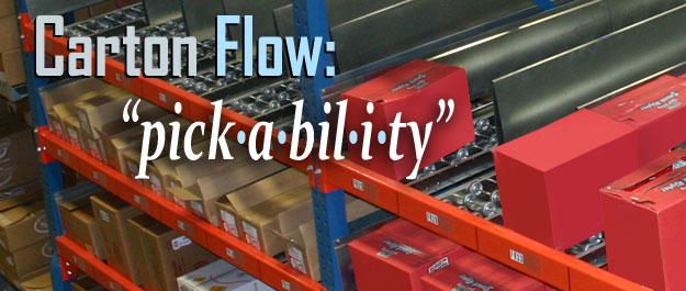 Gravity flow racks