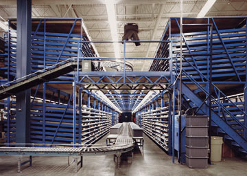 Pick Module Components Rack Supported Conveyors Flow