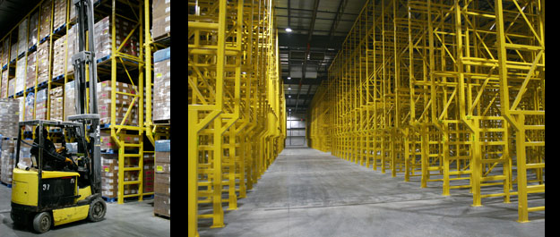 Drive In Rack System for Cold Storage