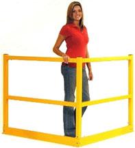 mezzanine hand rail