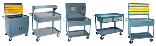 Rolling workbench - mobile shop desks