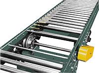 """Accumulation Conveyor - 1.9"""" Rollers; V-Belt Driven"""