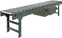 Hytrol Model RB Roller Bed Belt Conveyor