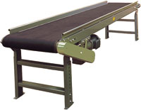 Hytrol Model TR Troughed Bed Belt Conveyor