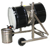 lift and pour drum carrier