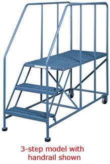 Platform Ladders 20 Quot High Rolling Ladders