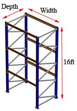 16 foot rack starter