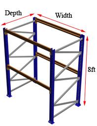 8 foot rack starter