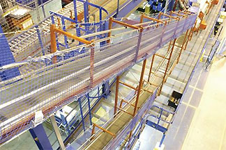 conveyor safety netting