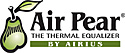 Air Pear Thermal Equalizing Fan Logo