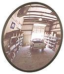 Round Shape Convex Safety Mirror