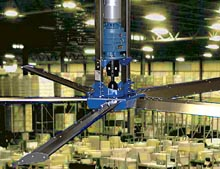 HVLS warehouse fan