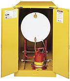 horizontal drum storage cabinets