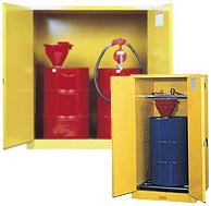 vertical drum storage cabinets