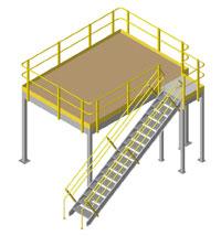 Roof Deck Mezzanines