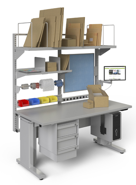 Cantilever Workbenches & Workstations