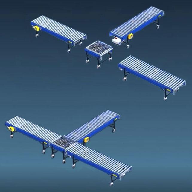 Rigid Reconfigurable Conveyors