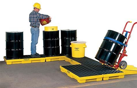 Modular Spill Control Platforms