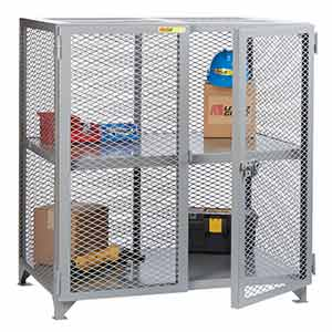 Steel Mesh Security Cabinet