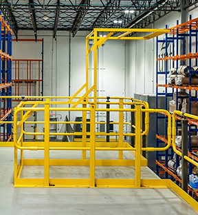 Mezzanine Safety Gates