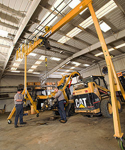 A-Series Steel Adjustable Gantry Cranes