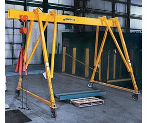 3-way Adjustable Steel Gantry Cranes