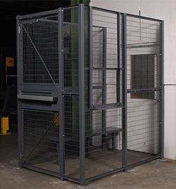 Dock Door Security Cages