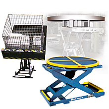 Pallet Positioners, Turntables, Tilters & Lifters