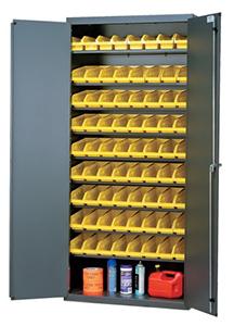 Cabinets with Bin Storage