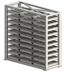 Sheet Metal Stackers with Fork Pockets
