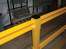 Drop-In Lift-Out Light Duty Guard Rail