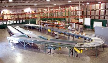 RFID Center test conveyor loop