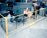 machine barrier - wire mesh