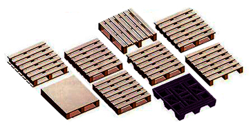 various pallet types